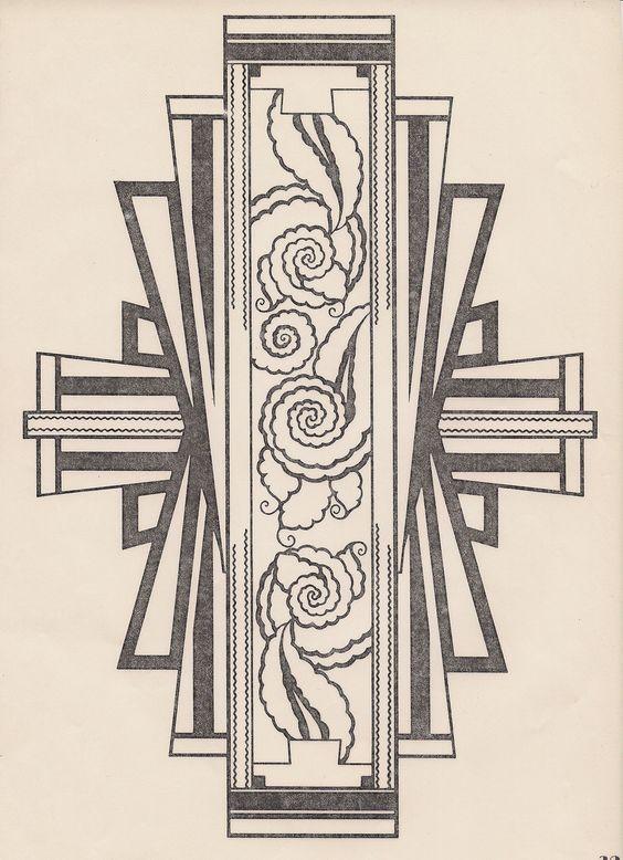 Art Deco Design Found On ART DECO Pinterest