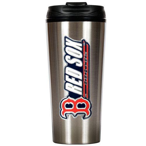 MLB Boston Red Sox Slim Stainless Steel Travel Tumbler
