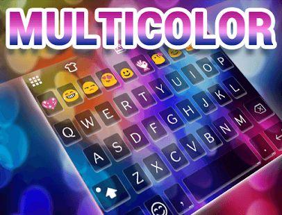 Multicolor Emoji Keyboard Skin– Vignette de la capture d'écran