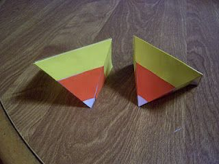 Outnumbered 3 to 1: Craftastic – Candy Corn Gift Boxes