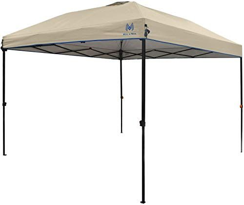 New Mola Noa Pop Canopy Tent 10 X 10 Instant Shelter Wheeled Carry Bag Straight Leg Tan Online Greattopfurniture Canopy Tent Pop Up Canopy Tent Canopy