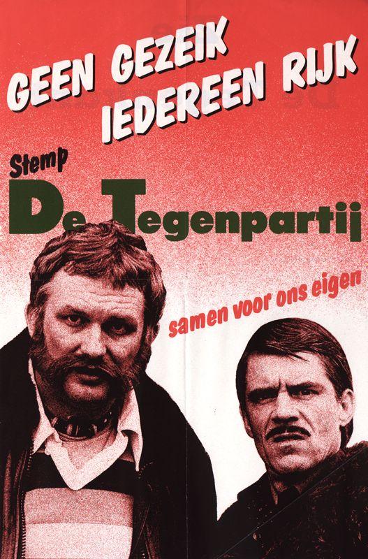 10 mei 1981 - Bij een aanslag op het Binnenhof in Den Haag komen F. Jacobse en Tedje van Es van De Tegenpartij om het leven.: