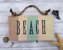 Beach signs, beach decor, beach house decor, tropical decor, beach, home decor, reclaimed wood sign, wooden signs