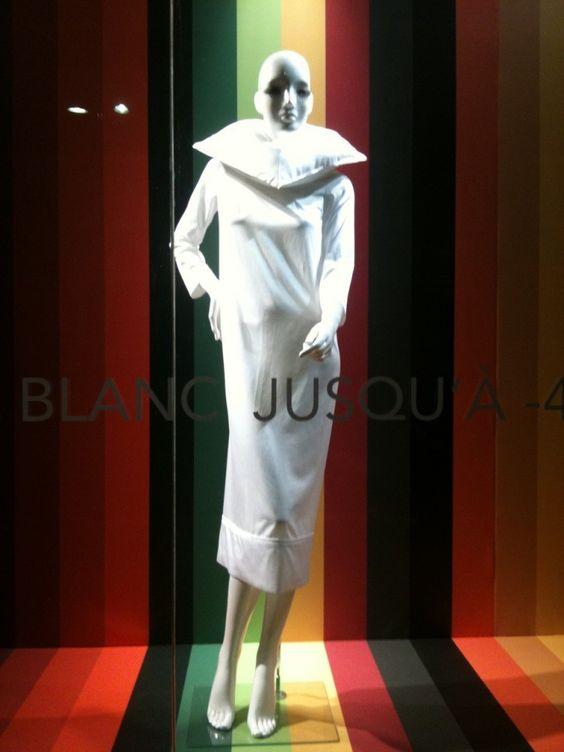Blanc de Blanc pour les soldes janvier 2012 au BHV