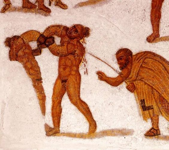 Greek Pankrationists from ca 650-200BC