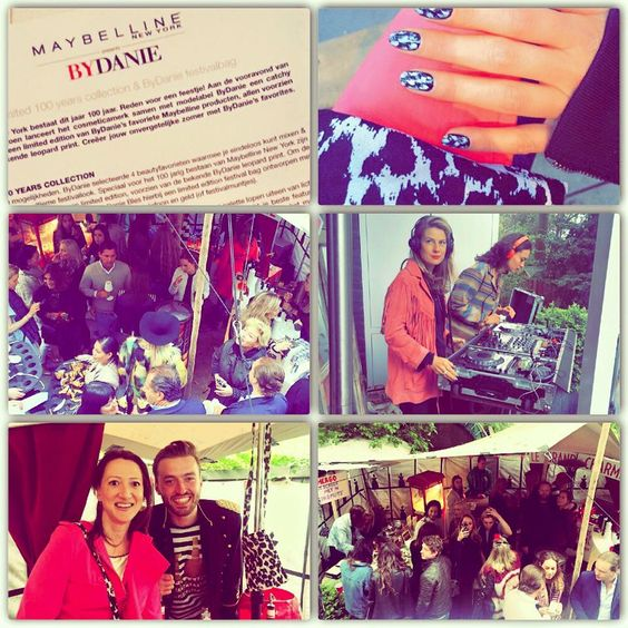 ByDanieXMaybelline congrats! #festival #daniesbackyard