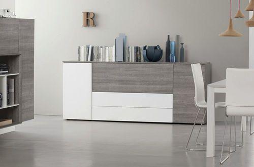 Credenza moderna / in legno / in legno laccato BASIC  Satarossa Design