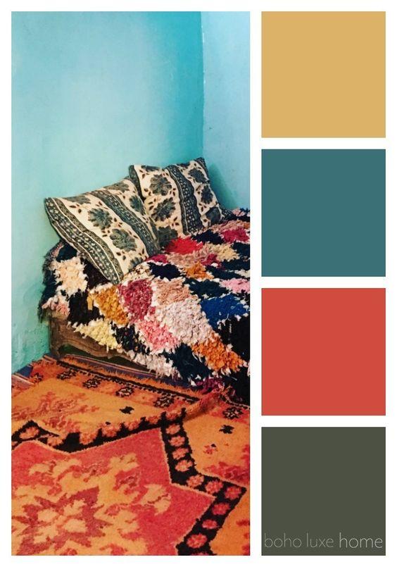 モロッコインテリア カラー イメージ