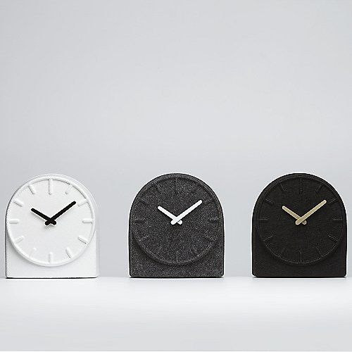 Felt Two Table Clock by LEFF Amsterdam at Lumens.com