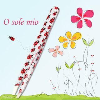 Linda 愛分享: O sole mio - 義大利的陽光與熱情 - Osmo 斜口眉夾