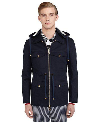 Black Fleece | Navy Zip Jacket