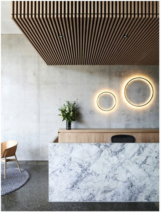 Collaboration Concept For Interior Design Medical Centre