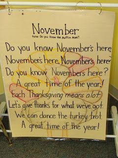 Me & Marie: November's Here!