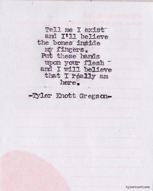 tyler knott gregson | Tumblr