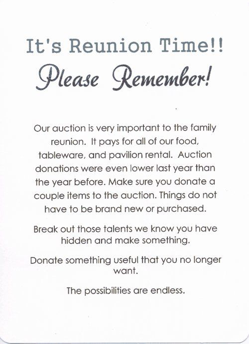 34 Awesome Family Reunion Invitation Letter Sample Images Reunion Invitation Family Reunion Invitations Reunion Invitations