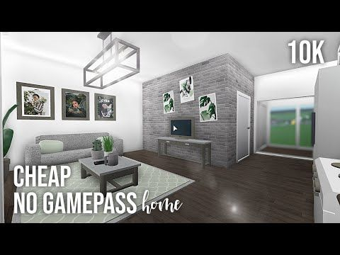 Roblox Bloxburg 10k No Gamepass Home Youtube Luxury House