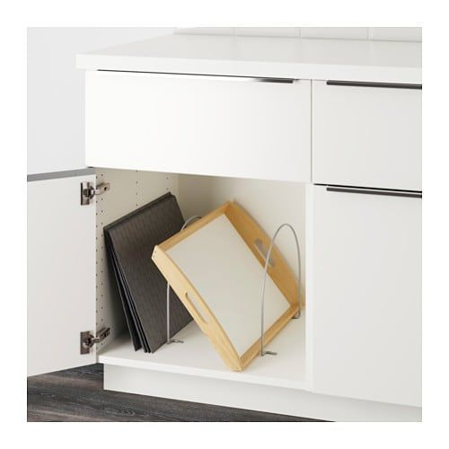 Utrusta Cloison Gris Argent Ikea Organisation Cuisine Cloison