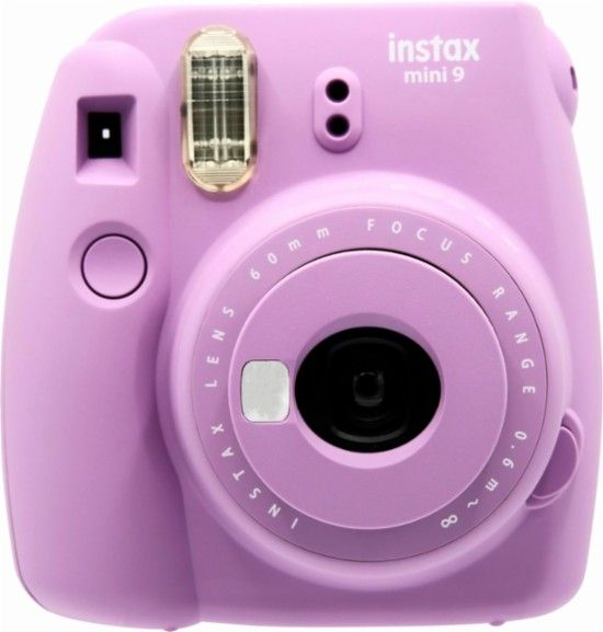Fujifilm Instax Mini 9 Instant Film Camera Smokey Purple