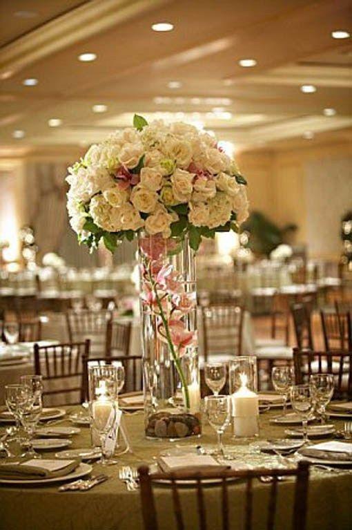 Inexpensive Diy Tall Wedding Centerpiece Inexpensive Wedding Centerpieces Tall Wedding Centerpieces Flower Centerpieces Wedding