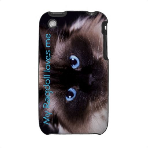 Ragdoll cat Iphone cover iPhone 3 Cases