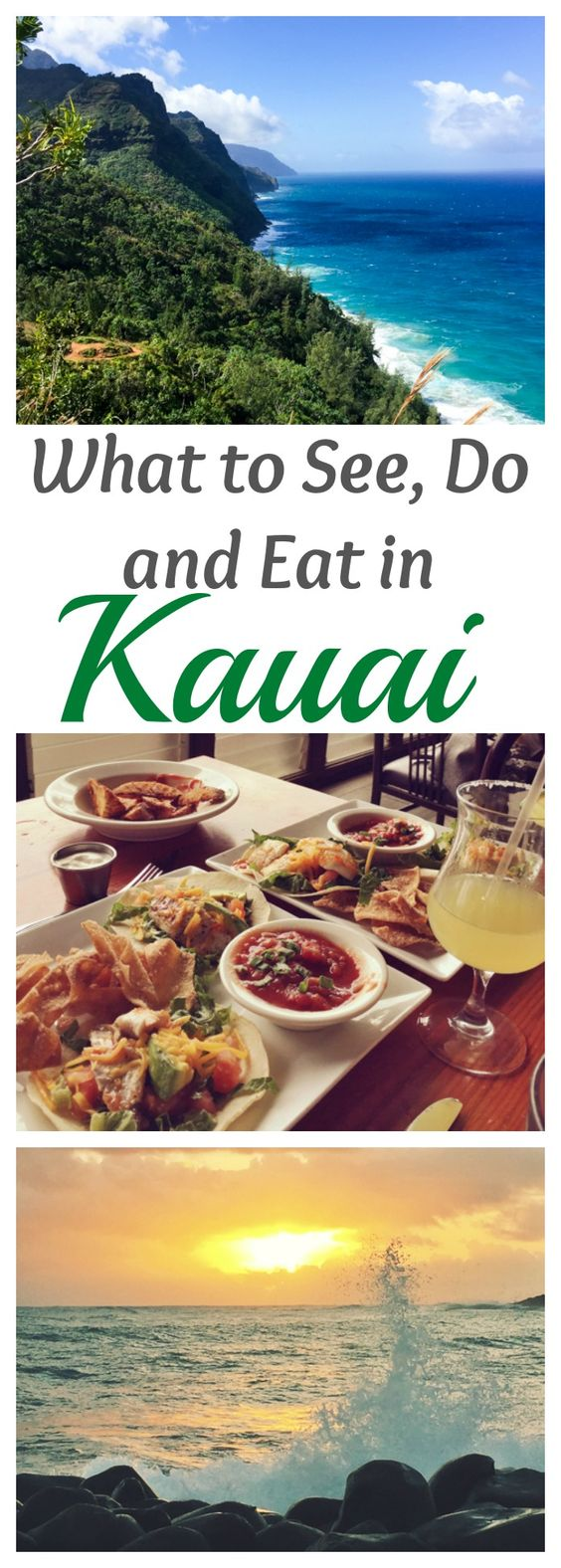 Family Vacay this July - What to See do and Eat in Kauai. Things to do, beaches, and best restaurants.