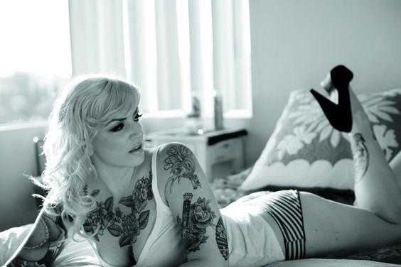 Inked Girls vol 2- issue 6, Model: Chloe Elise, Photo: Adot White, #tattoo, #inkedgirls, #tattooedgirls, #inked