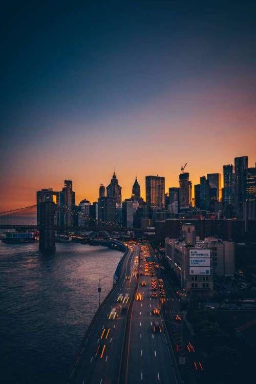 Las Mejores Imagenes Que Te Muestran La Belleza De La Naturaleza Puedes Usarlas Como Fondo De Pantalla City Landscape New York City Photos New York Wallpaper