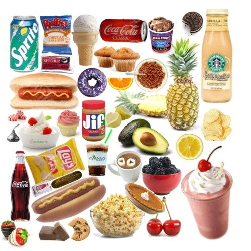 food collage!!