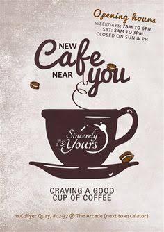 Image result for cafe opening flyer