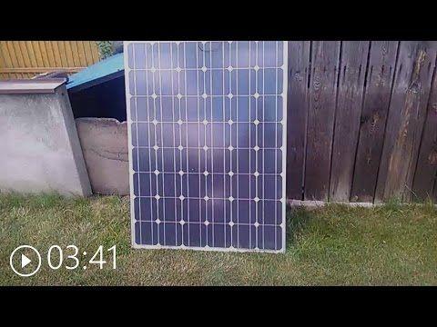 Panel Sloneczny Ogniwo Fotowoltaiczne 12v 180w Youtube Solar Panels Roof Solar Panel Paneling