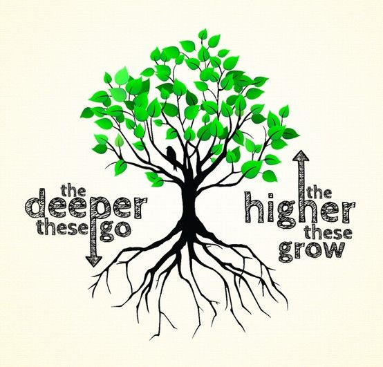 """Testimony. We need to be deeply """"Rooted"""" in Jesus Christ. (Colossians 2:6-7)"""
