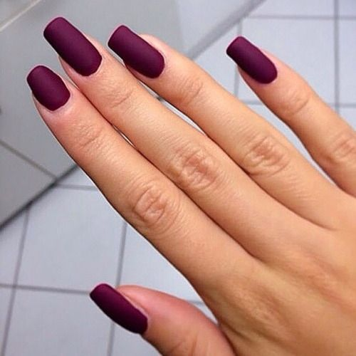 Purple Acrylic Nails Tumblr Great Photo Blog About Manicure 2017