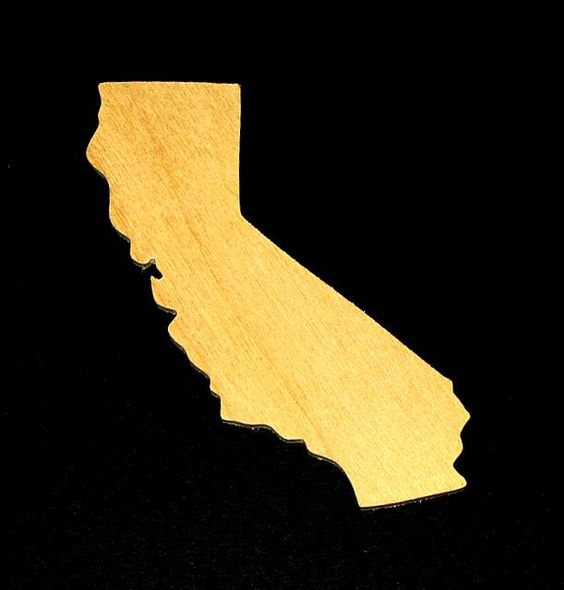 California Cutout - Hand Cut Plywood (Special Order)