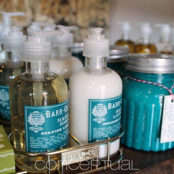 ¿Qué esperas para tener en tus baños los jabones #Barr-Co que tienen ese aroma y toque delicioso, que solo tú sabes darle a tu casa? #Conceptual