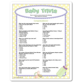 showers guys trivia question baby trivia ideas shower games baby baby