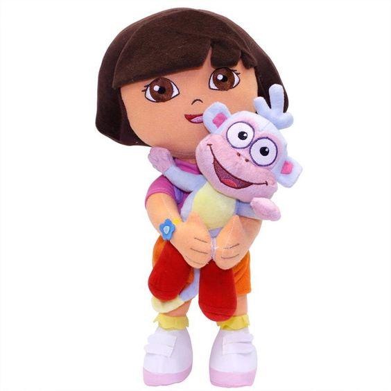 Boneca Dora Aventureira e Botas – Multibrink - http://batecabeca.com.br/boneca-dora-aventureira-e-botas-multibrink-multibrink.html