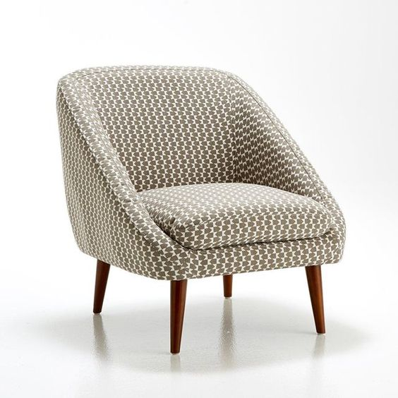 Fauteuil vintage semeon la redoute interieurs prix for La redoute housse fauteuil