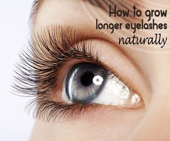 how to grow my eyelashes longer
