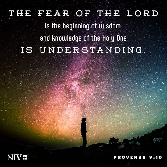 NIV Verse of the Day: Proverbs 9:10