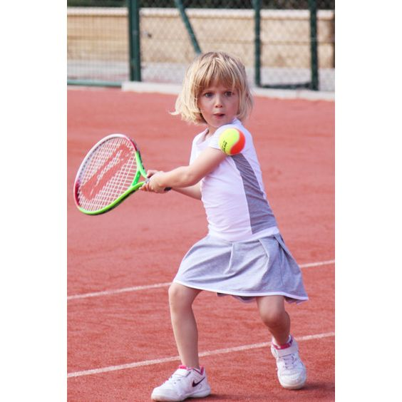 Girls Tennis Skirt and T-Shirt Outfit Pleated by ZoeAlexanderUK (£33) found on Polyvore