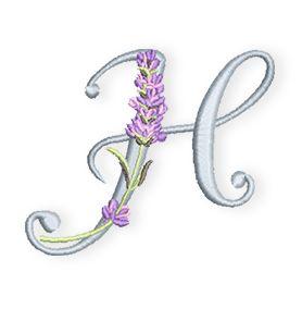 Mit dem nächsten Buchstaben meines Lavendel-Alphabets melde ich mich heute wieder bei Euch.  Das H ist für alle Hannelores, Heikes und Helgas und alle anderen, deren Vorname sonst noch mit einem H beginnt.   Ladet Euch die Stickdatei in vielen Formaten und der Farbwechselübersicht gleich hier herunter:  Lavendel-Alphabet-H  Ich wünsche Euch natürlich auch mit dem H viel Spaß und verab ...