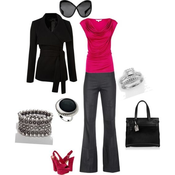 Pink, created by naira-aponi on Polyvore