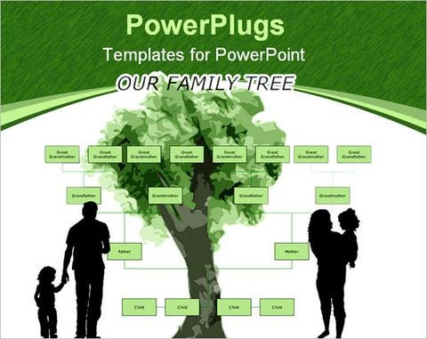 Ppt Free Premium Templates In 2021 Blank Family Tree Template Free Family Tree Template Family Tree Template