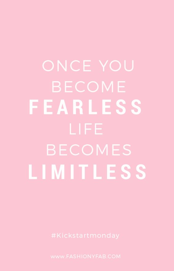 be-fearless-quote: