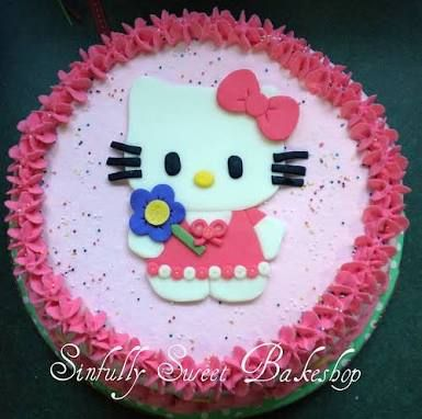 Image result for hello kitty cake