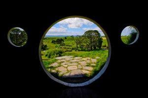 Through the portal...