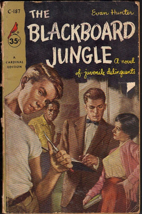 Vintage Pulp Fiction Paperback 1955