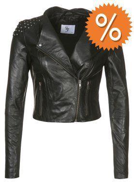 Vero Moda ERA Lederjacke black auf shopstyle.de