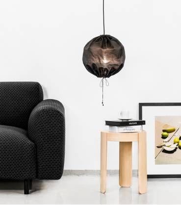 SUSPENSION Kuu noir ø30 cm - La Maison d'Anna G