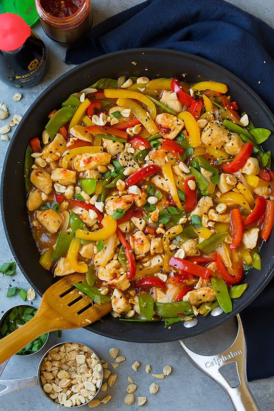 Szechuan Chicken Stir Fry: